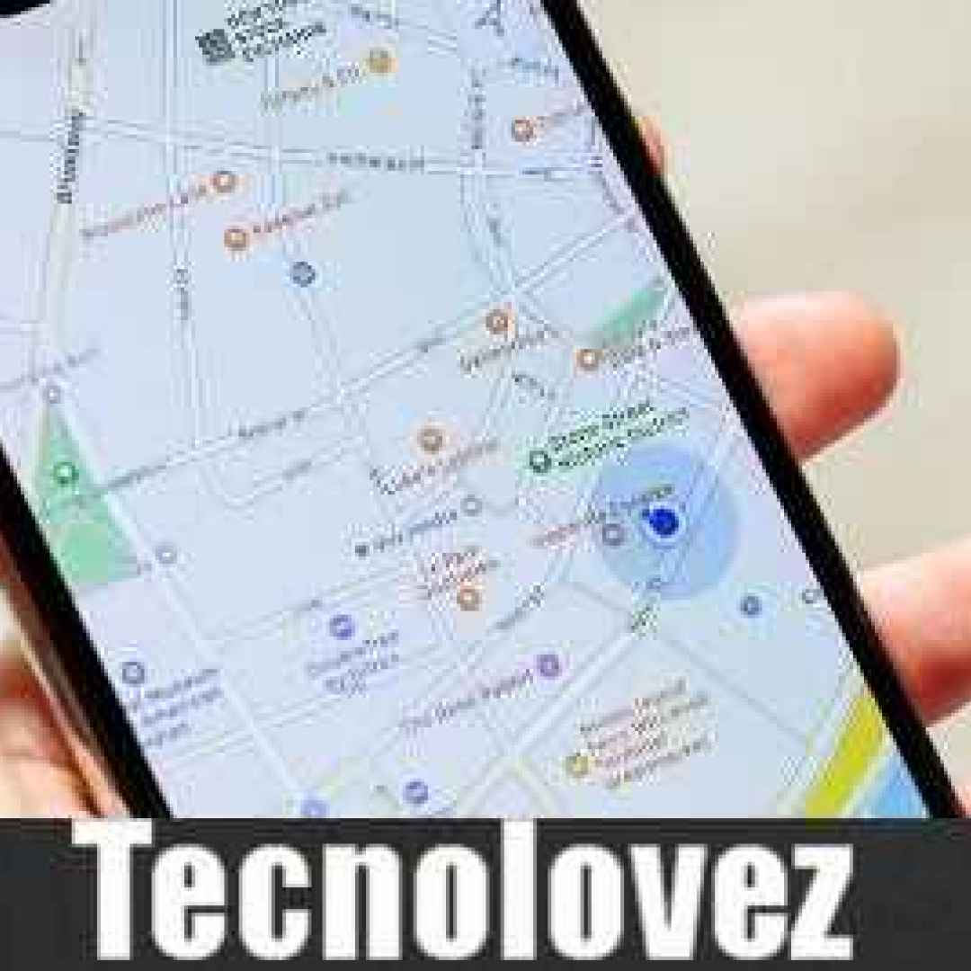 google maps android posizione