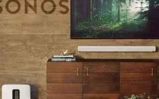 Audio: Sonos: annuncia la nuova soundbar Arc ed aggiorna Sub e Five