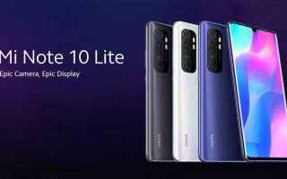 Cellulari: xiaomi mi note 10 lite  xiaomi  coupon