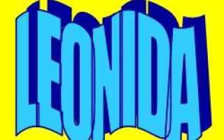 Storia: leonida  nome  significato  etimologia