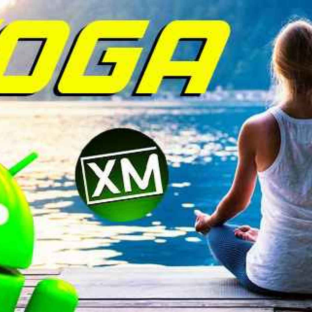 yoga android iphone salute sport relax