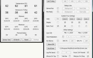 realtemp programma temperatura cpu