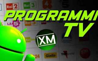 Android: android tv televisione film  canali tv