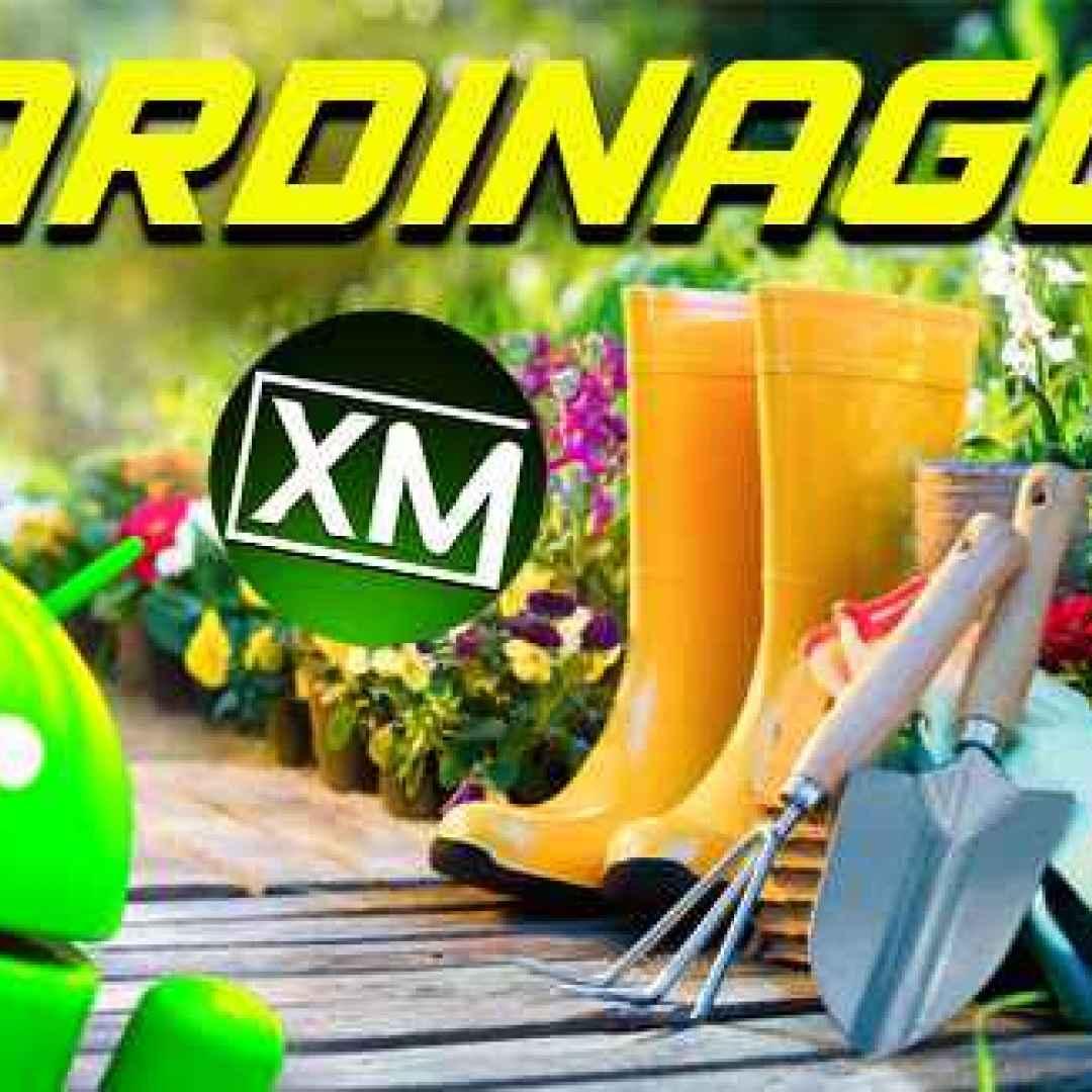 giardinaggio fiori piante android verde