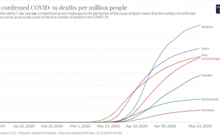 Medicina: svezia  covid  mortalità