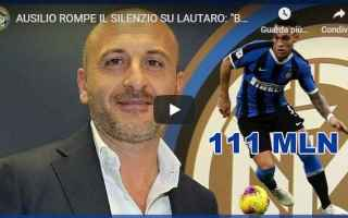 Calciomercato: ausilio inter lautaro barcellona video