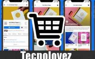 Facebook: facebook shop facebook gratis negozio