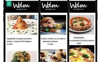 Gastronomia: Ti serve un Menu Digitale per il tuo ristorante, pizzeria oppure un bar? semplice economico e sicuro