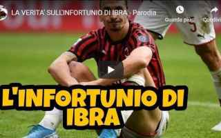 Calcio: ibrahimovic video gli autogol milan ibra