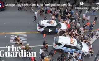 dal Mondo: new york usa polizia video incidenti