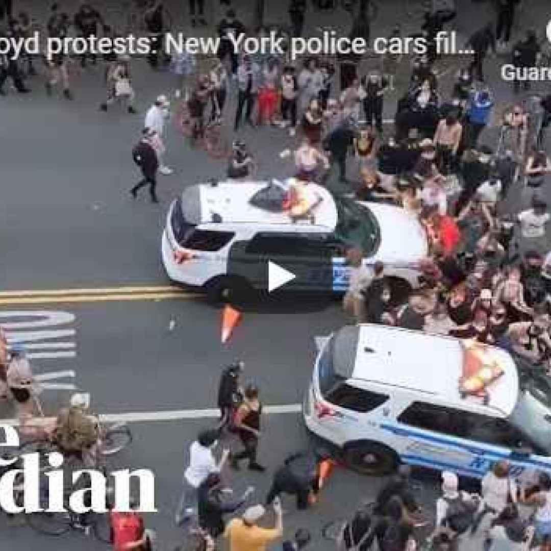 new york usa polizia video incidenti
