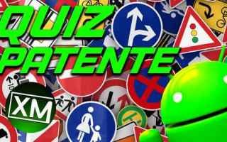 Android: patente quiz patente android auto moto