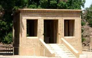 Cultura: cappella bianca  egitto  karnak  tempio