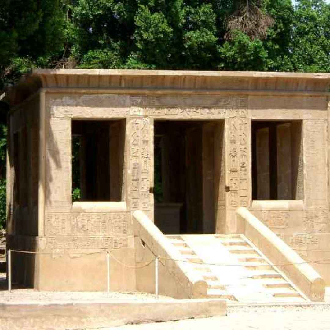 cappella bianca  egitto  karnak  tempio