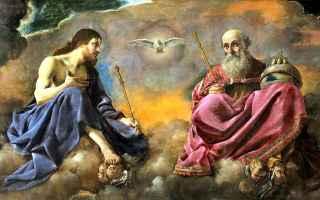 Religione: spirito santo  tre persone  trinità