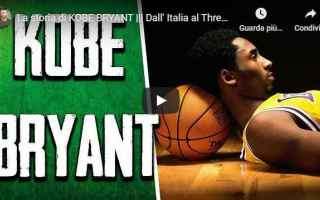 kobe bryant video storia basket nba