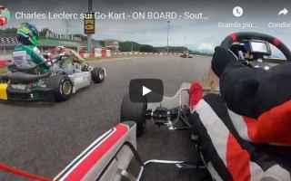 Formula 1: leclerc kart video motori ferrari