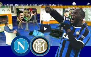 Coppa Italia: napoli inter video coppa calcio