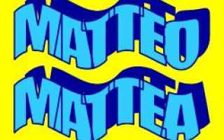 Storia: etimologia  matteo  significato