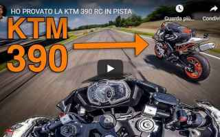Motori: alberto naska video moto ktm