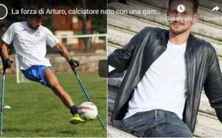Calcio: calcio calciatore arturo video italia