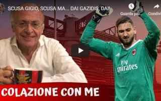 Serie A: milan donnarumma video pellegatti calcio