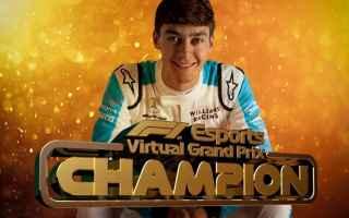 Formula 1: russel  f1  virtual gp  formula 1