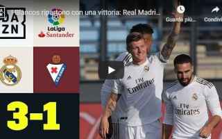 Calcio Estero: real madrid calcio video liga spagna