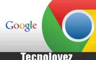 Computer: google chrome aggiornamenti
