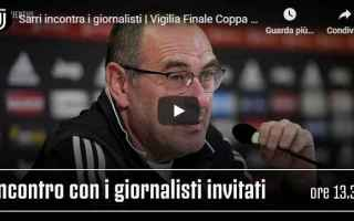Coppa Italia: juventus juve calcio video sarri