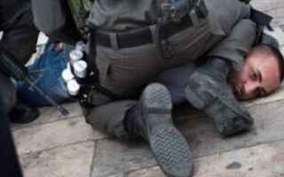 dal Mondo: israele  palestina  george floyd