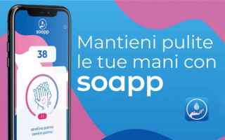 Salute: sapone mani virus android iphone apps
