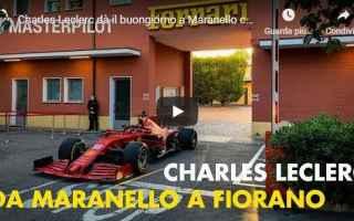Formula 1: leclerc maranello video motori ferrari