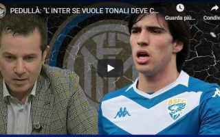 tonali pedulla calcio inter video