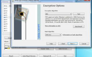 veracrypt crittografare file  cartelle
