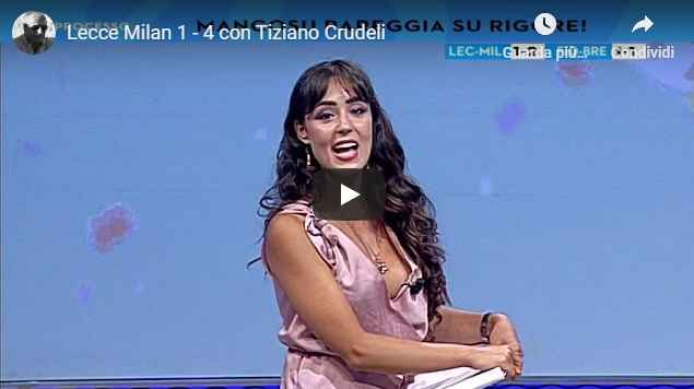 Lecce - Milan 1-4 con Tiziano Crudeli - VIDEO (Milan)