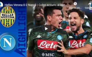 Serie A: verona napoli video gol calcio