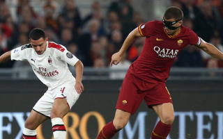 Serie A: roma  milan  tv  formazioni  serie a