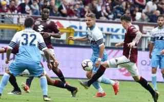Serie A: torino-lazio  formazioni ufficiali