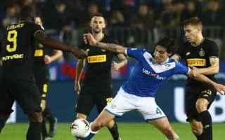 Serie A: inter-brescia  formazioni ufficiali