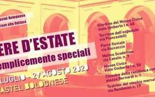 Notizie locali: castel bolognese  estate