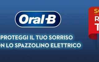 Gadget: oral-b  promo  promozione  offerta
