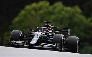 Doppietta delle Mercedes anche nelle FP3 del Gp dAustria. Hamilton 1.04.130 migliorando di due decim