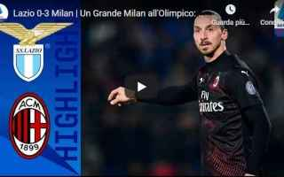 Serie A: lazio milan video gol calcio