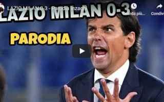 Calcio: lazio milan parodia inzaghi autogol