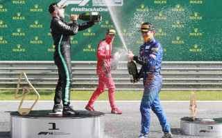 Formula 1: f1. bottas  leclerc  norris  austriangp