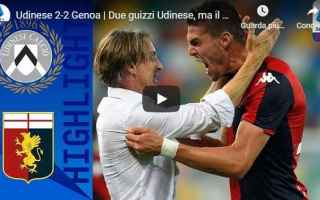 udinese genoa video gol calcio