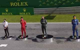 I protagonisti del Gran Premio dAustria sono stati: Bottas, dietro ad Hamilton fino a Sabato mattina