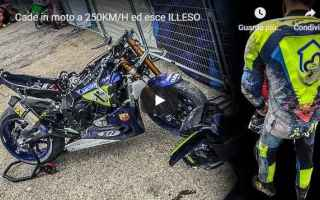 Motori: incidente moto motori naska video