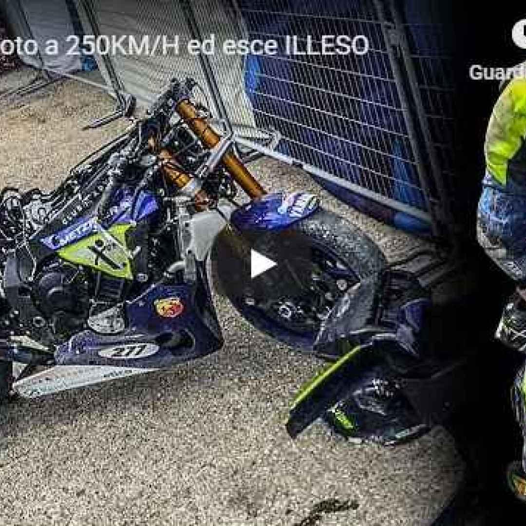 incidente moto motori naska video